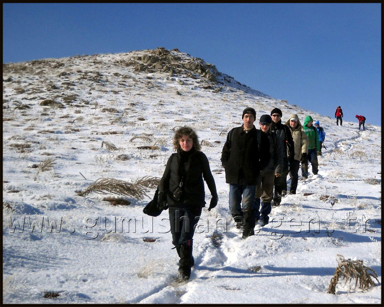 Gümüşhane dağcılık ve doğa sporları kulübünün iki haftada