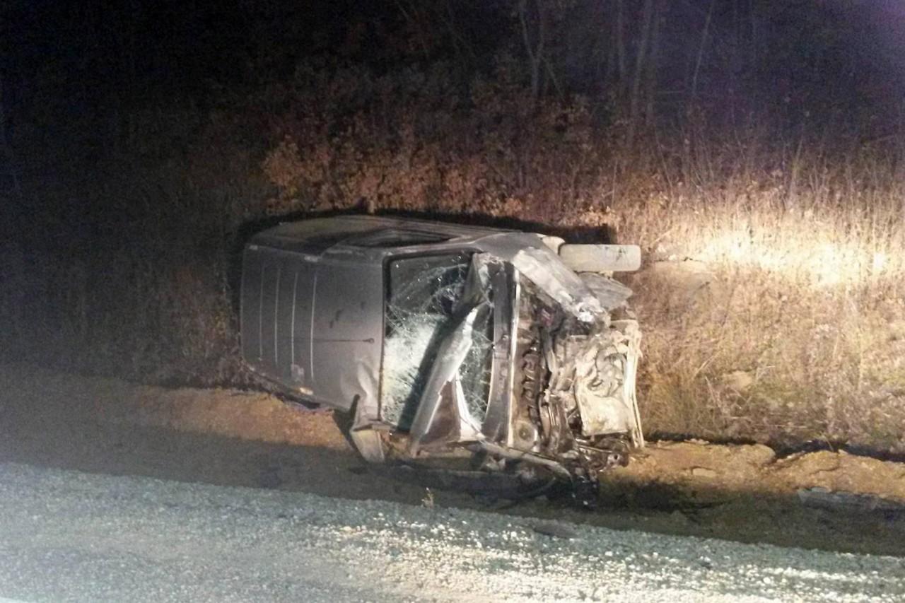 İkisu-Şiran karayolunda kaza: 2 yaralı