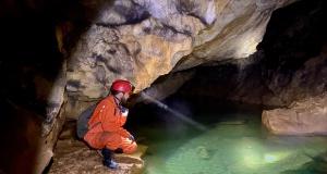 Gümüşhane mağaralarını kayıt altına alıyorlar