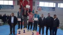Okullar arası taekwondo müsabakaları Kelkit'te yapıldı