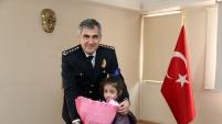Miniklerden emniyete polis haftası ziyareti