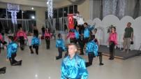 Gümüş Dans Topluluğu Kıbrıs'ta gösterilerini sunuyor