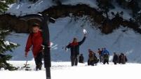 Gümüşhaneli dağcılardan yürüyüş