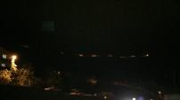 Torul kalesi yolu aydınlatıldı