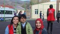 Gençlik Merkezi Çocukların yüzünde tebessüm olmaya devam ediyor