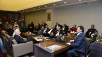 KARKON'dan Başkan Çimen'e ziyaret