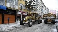 Gümüşhane Belediyesinin karla mücadele çalışmaları
