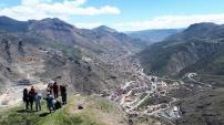Gümüşhaneli dağcılardan Turizm Haftası yürüyüşü