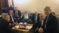TBMM'de Milletvekillerine Gümüşhane Pestil ve Kömesi İkram Edildi