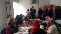 Torul'da kursiyerler belgelerini aldı