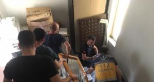 Gümüşhane Devlet Hastanesi'ndeki yangın tatbikatı gerçeğini aratmadı
