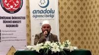 Gümüşhane'de 'Gençlik sorumlulukları' konulu konferans