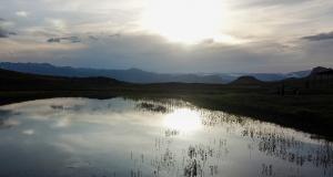 Doğal güzellikleriyle ve efsanesiyle ünlü 'Yaylanın yüreği' Dipsiz Göl havadan görüntülendi...