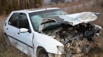 Kelkit'te iki araç kafa kafaya çarpıştı: 6 yaralı