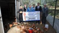 'Genç Çiftçi' projesi Gümüşhane'de meyvelerini vermeye başladı