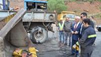 Vali Memiş, asfalt olacak yolları inceledi