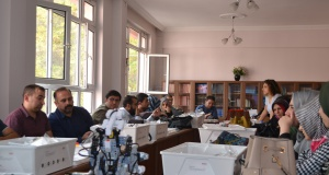 Öğretmenlere robotik ve kodlama eğitimi