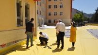 İl Milli Eğitim Müdürü devam eden inşaat ve yatırımları yerinde inceledi