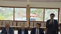 Kürtün'de köy ve mahalle muhtarlarıyla istişare toplantısı