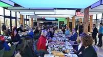 İş dünyasının kadın esnafları kahvaltıda buluştu