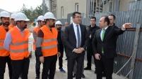 Gümüşhane'de bin 300 kişilik kız yurdu inşaatı devam ediyor