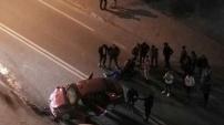 Gümüşhane'de zincirleme trafik kazası