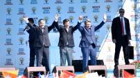 Başbakan Davutoğlu Gümüşhane'de