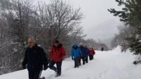 Gümüşhaneli dağcılardan Sarıkamış şehitleri için zorlu yürüyüş
