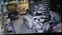 Gümüşhane'de Hırsızlar 1 Dakikada Bin 750 Tl Çaldılar