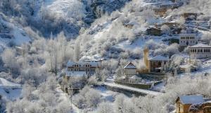 Süleymaniye'de kış güzelliği
