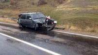 Kelkit yolunda kaza: 2 yaralı