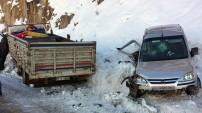 Zigana dağında kaza: 1 ölü, 2 yaralı