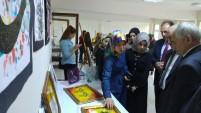 KYK öğrencilerinden yılsonu sergisi