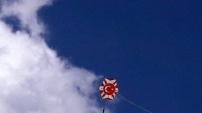 Yağlıdere'de bir ilk: Çocuklar uçurtma şenliğinde coştu