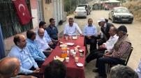 AK Parti heyetinden şehit öğretmenin ailesine ziyaret