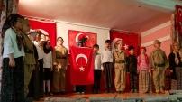Tekke köyünde 'Çanakkale Geçilmez!' oyunu sahnelendi