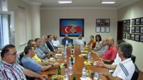 CHP Kocaeli Milletvekili hemşehrimiz Tahsin Tarhan'dan GTSO'ya ziyaret