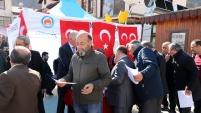 MHP Gümüşhane'de Afrin şehitleri için lokma dağıttı