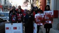 KYK ve Türk Kızılayı'ndan Halep seferberliği