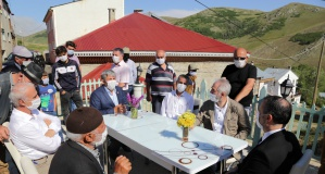Vali Taşbilek'ten köy ziyaretleri