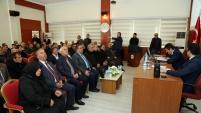 Gümüşhane'de KHB Meclis toplantısı yapıldı