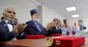 Gümüşhane'de 21 Kıbrıs gazisine madalya ve beratları takdim edildi