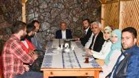 Osman Akgül gazetecilerle buluştu