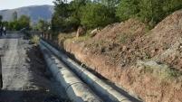 Sadak sulaması ile 62 bin 200 dekar zirai arazi suya kavuşuyor