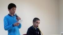 İmam Hatip ortaokulunda Kur'an-ı Kerim ve Ezan okuma yarışması düzenlendi