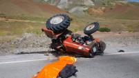 Kelkit'te trafik kazası: 1 ölü