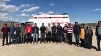Ambulans sürücüleri eğitimden geçti