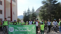 Yeşilay'dan bisiklet faaliyeti