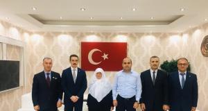 Kaymakam Aydın'dan şehit ailesine ziyaret
