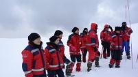 UMKE ekipleri Zigana Dağı'nda eğitim ve tatbikat kampında